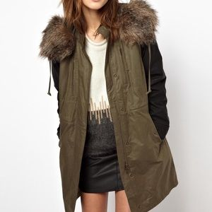 "French Connect ""Military"" style Parka"